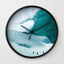 White Wall Wall Clock