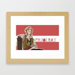 Enjolras Framed Art Print