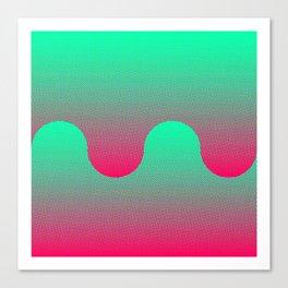 Vapor Composition 3 Canvas Print