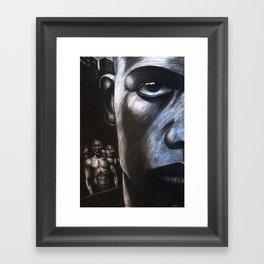 NY FACE Framed Art Print