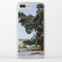 Wild Playground in New Zealand Clear iPhone Case
