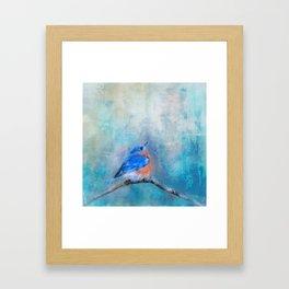 Little Boy Blue Framed Art Print