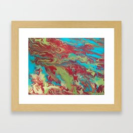 Psychedelic Collection Framed Art Print