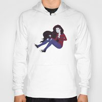 marceline Hoodies featuring Marceline by ribkaDory
