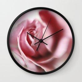 Rose In Bloom Wall Clock
