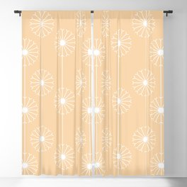 Dandelion Pattern #2 Blackout Curtain