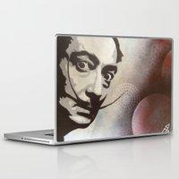 salvador dali Laptop & iPad Skins featuring salvador dali by Joedunnz