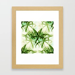 That  Bamboo  look.... Framed Art Print