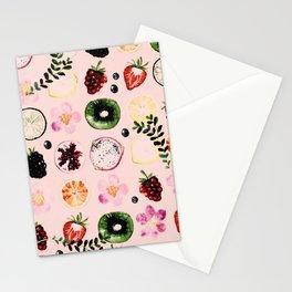 Fruit festival pattern Stationery Cards