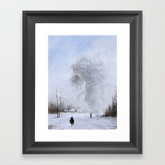 another day at work... Ded Moroz Framed Art Print