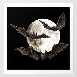 Creatures Of The Night Art Print