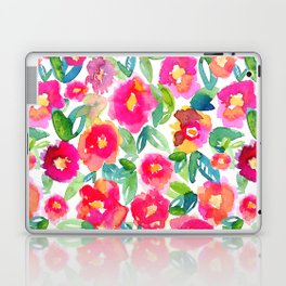 Hot Floral Mess Laptop & iPad Skin