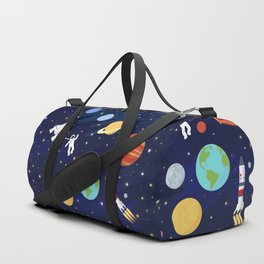 In space Duffle Bag