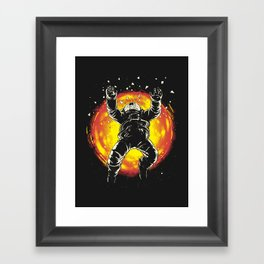 Lost in the space Framed Art Print