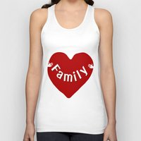 family Tank Tops featuring Family by Geni