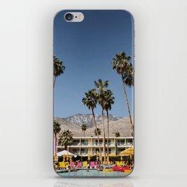 Palm Springs #society6 #decor #buyart iPhone Skin