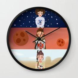 Star Ladies  Wall Clock