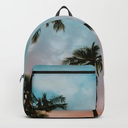 Palms Above (Color) Backpack