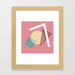 Imperfect Geometries #2 Framed Art Print