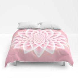Pink Lotus Comforters