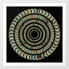 Slow Spin Art Print