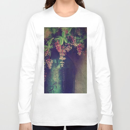Wanton Blossoms Long Sleeve T-shirt