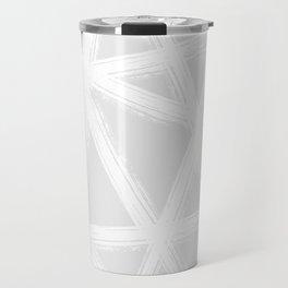 Pale Brushstrokes V2 Travel Mug