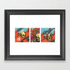TEST PILOT Framed Art Print