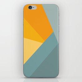 Abstract Mountain Sunrise iPhone Skin