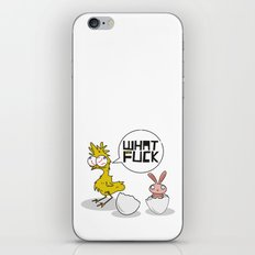 What the fuck iPhone & iPod Skin