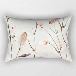 Feather Tree Rectangular Pillow