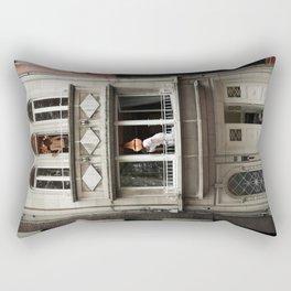 Three Rooms Rectangular Pillow
