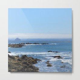 Morro Bay Tide Pool Metal Print