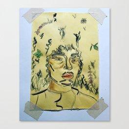 Yara Shahidi Canvas Print