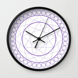 Anime Magic Circle Wall Clock