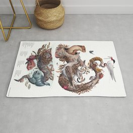 Driftwood (with labels) Rug