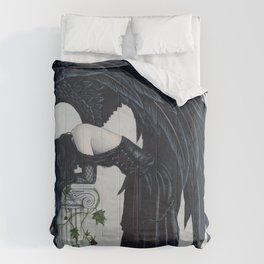 Despair Gothic Angel Comforters