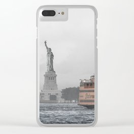 Liberty & The Boat Clear iPhone Case