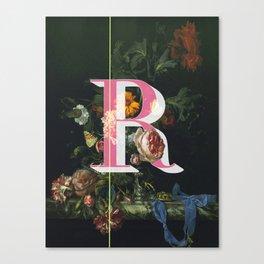 Letter R Canvas Print