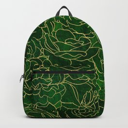 ABSTRACT FLORAL 3 Backpack