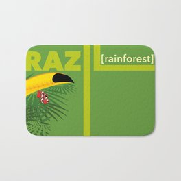 Brazil [rainforest] Bath Mat