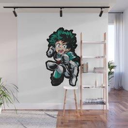 Izuku Midoriya Hero Academia Wall Mural