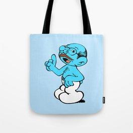 Tobias Smurf Tote Bag