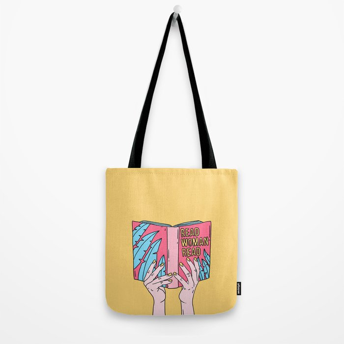 Read woman read Tote Bag