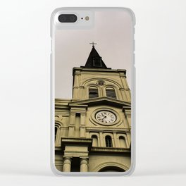 St. Louis Cathedral New Orleans Clear iPhone Case
