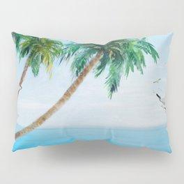 Palm Trees 2 Pillow Sham