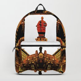 b. gold Backpack