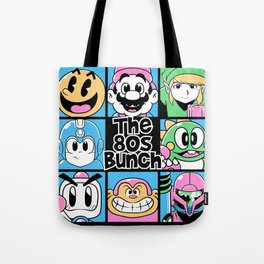 The 80s Bunch Tote Bag