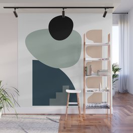Shape study #18 - Stackable Collection Wall Mural