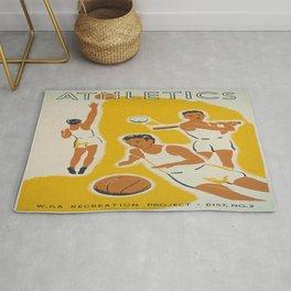 Vintage poster - Athletics Rug